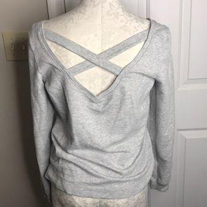 Super cute open back Aerie sweatshirt size m